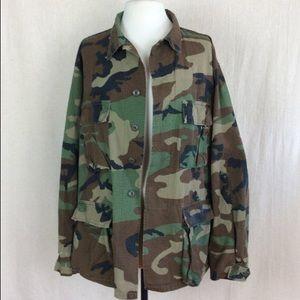 Vintage Oversized Military Jacket
